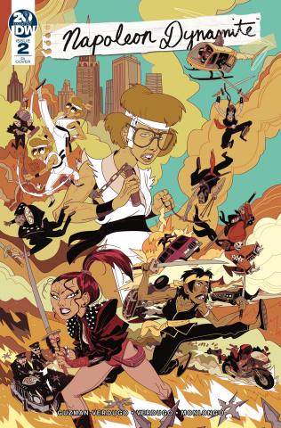 Napoleon Dynamite #2 (10 Copy Monlongo Cover)