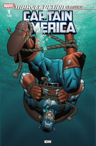 Marvel Action Classics: Captain America (Henry Cover)