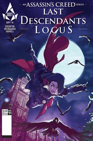 Assassin's Creed: Last Descendants - Locus #1 (Valeria Cover)