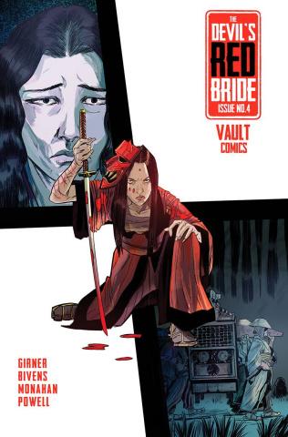 The Devil's Red Bride #4 (Bivens Cover)