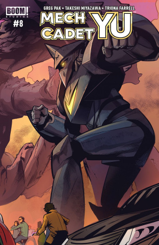 Mech Cadet Yu #8 (Subscription To Cover)