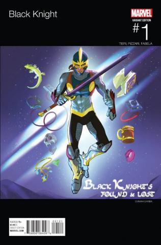 Black Knight #1 (Gariba Hip Hop Cover)
