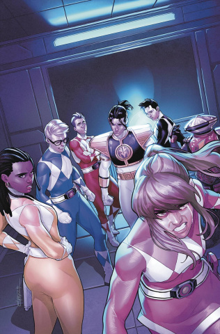 Mighty Morphin' Power Rangers #52 (Campbell Cover)