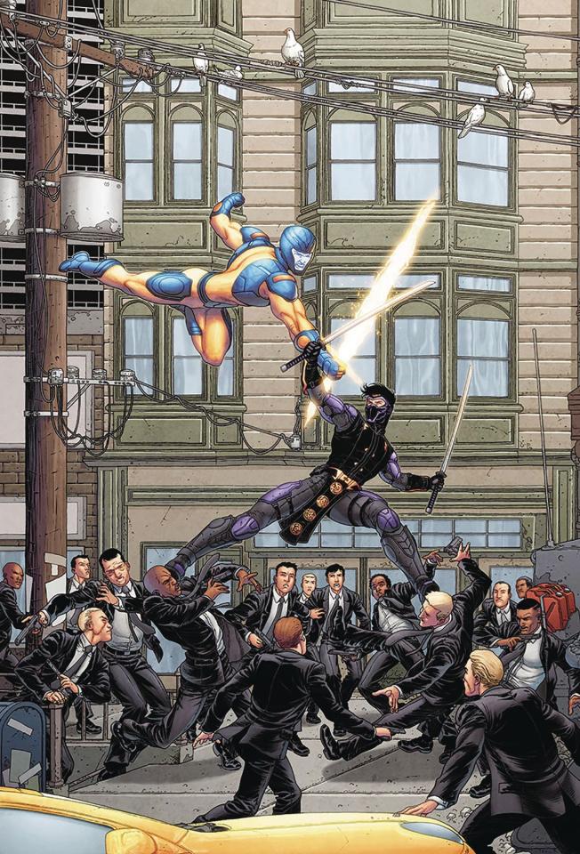 Ninjak vs. The Valiant Universe #1 (20 Copy Portela Cover)