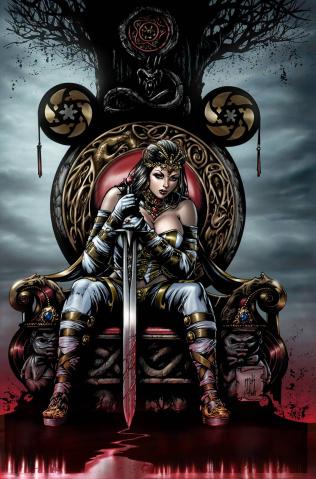 Grimm Fairy Tales: Wonderland #27 (Krome Cover)