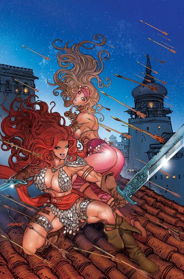 The Invincible Red Sonja #2 (21 Copy Moritat Virgin Cover)