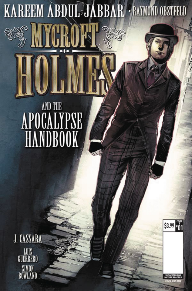 Mycroft Holmes #1 (Reis Cover)