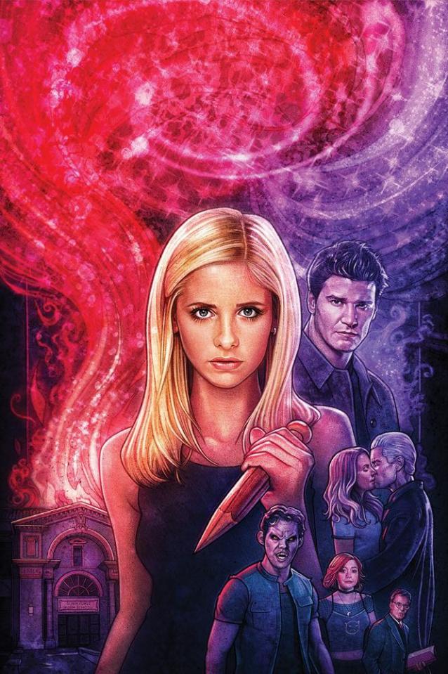 Buffy the Vampire Slayer / Angel: Hellmouth #1 (Lambert Cover)