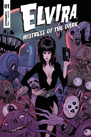 Elvira: Mistress of the Dark #1 (Strahm Cover)