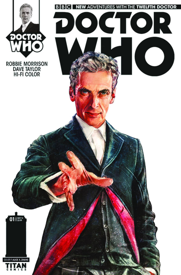 Doctor Who: New Adventures with the Twelfth Doctor #1 (100 Copy Zhang Stark Cover)