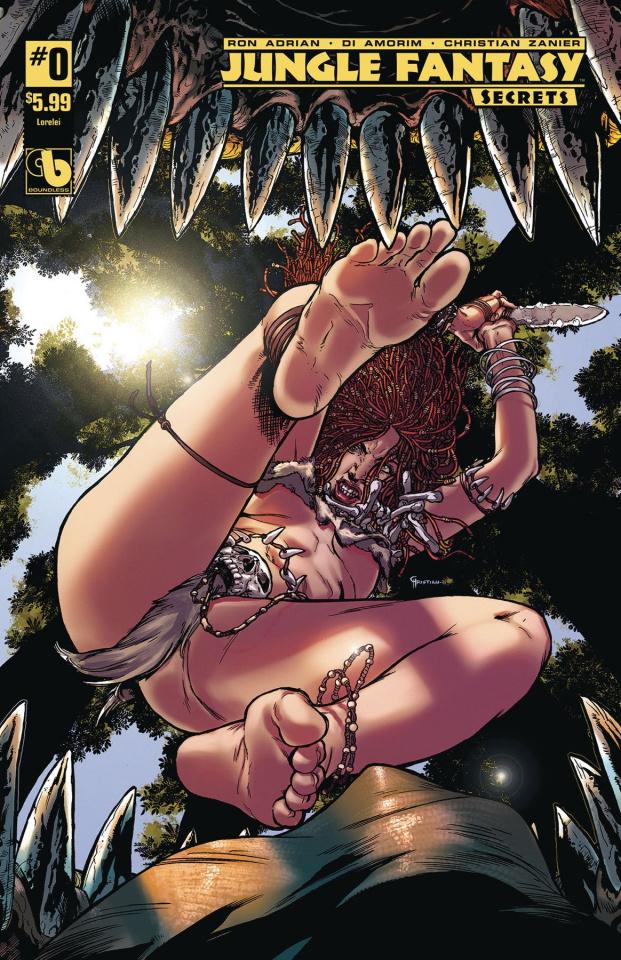 Jungle Fantasy: Secrets #0 (Lorelei Cover)