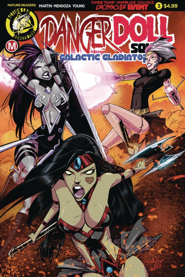 Danger Doll Squad: Galactic Gladiators #3 (Celor Cover)