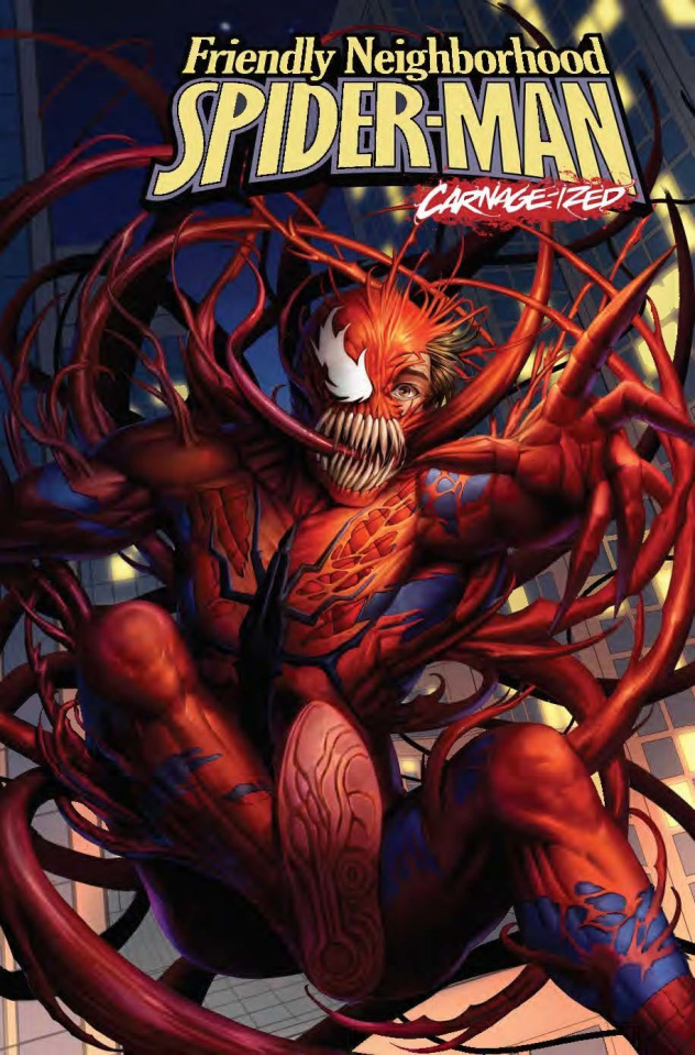 Friendly Neighborhood Spider-Man #9 (Woo Dae Shim Carnage-ized Cover)