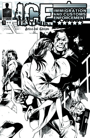 I.C.E.: Critical Mass #1 (20 Copy Cover)