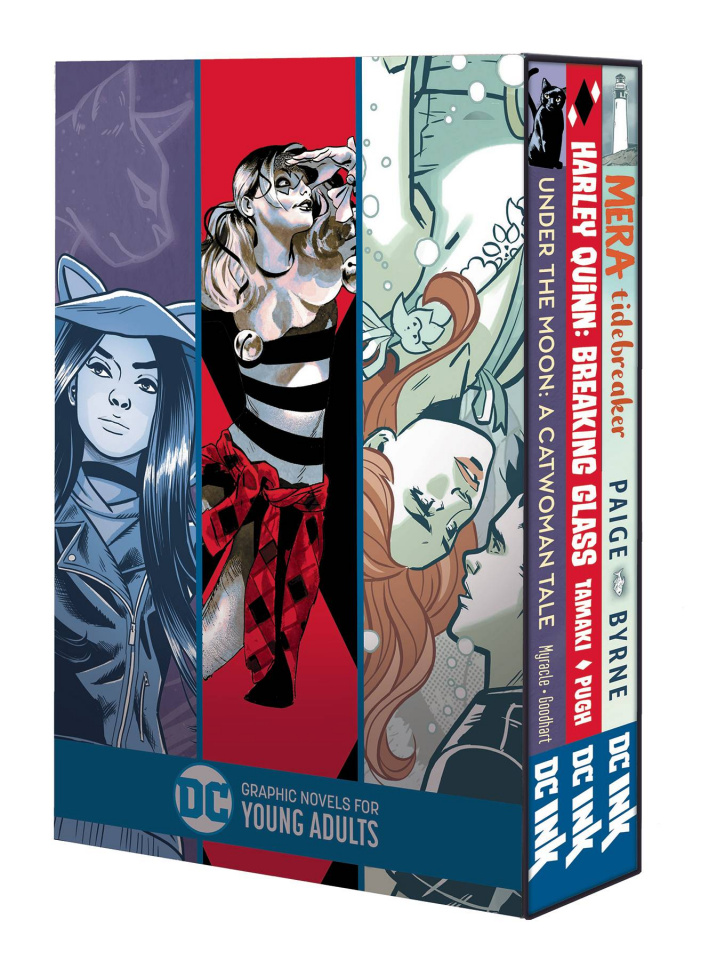 DC Graphic Novels for Young Adults (Box Set)