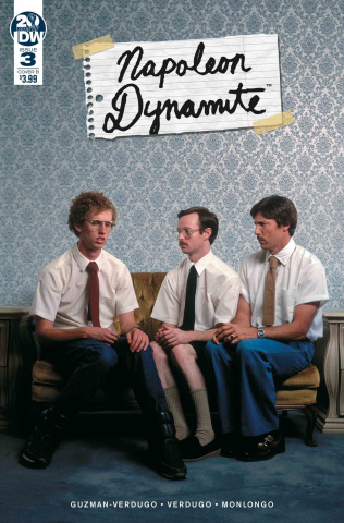 Napoleon Dynamite #3 (Photo Cover)