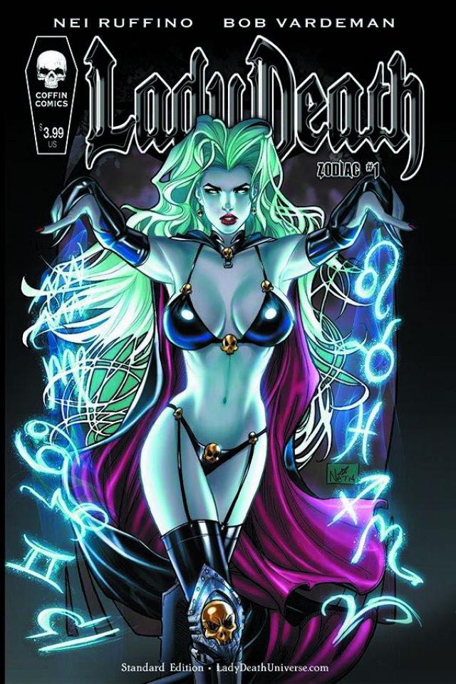 Lady Death: Zodiac #1