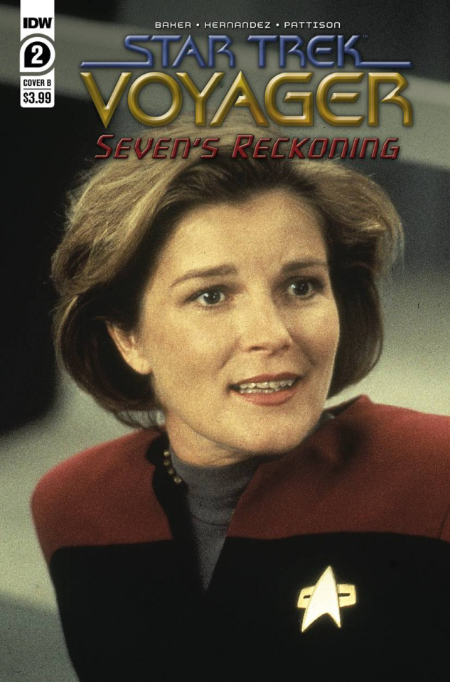 Star Trek: Voyager - Seven's Reckoning #2 (Photo Cover)