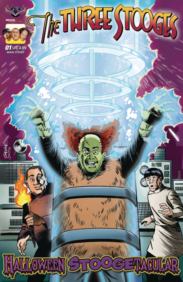 The Three Stooges: Halloween Stoogetacular (Galvan Cover)