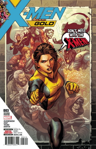 X-Men: Gold #3 (2nd Printing Syaf Cover)