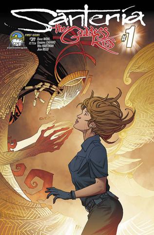Santeria: The Goddess Kiss #1 (Lorenzana Cover)