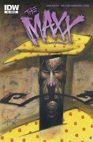 The Maxx: Maxximized #10 (Subscription Cover)