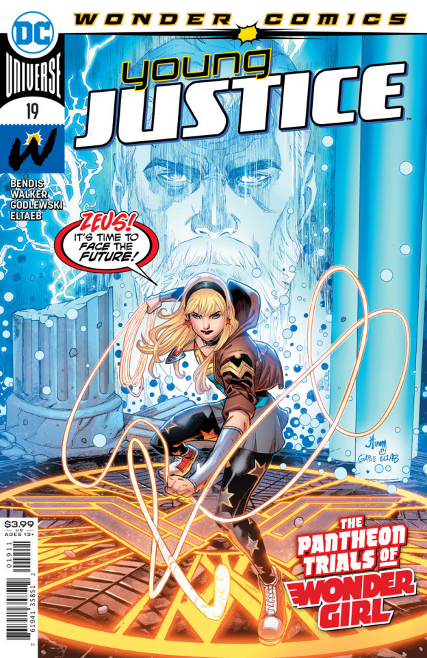 Young Justice #19 (John Timms Cover)