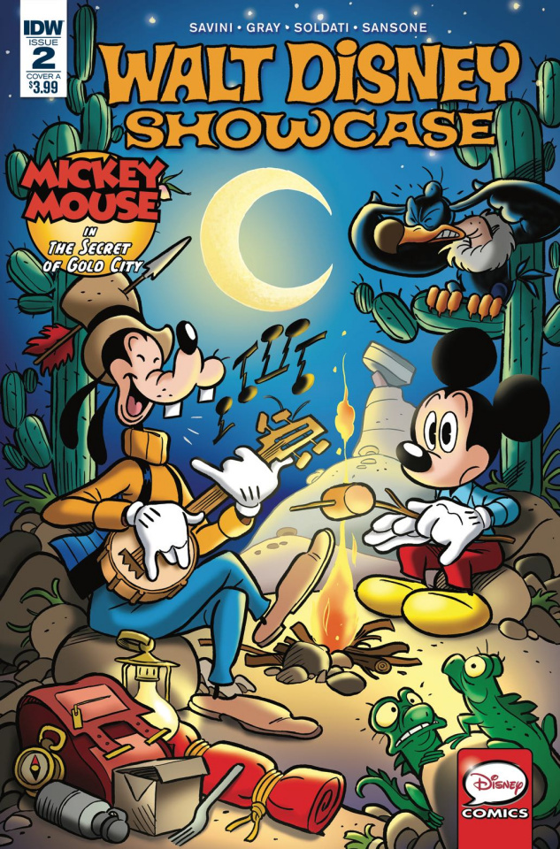 Walt Disney Showcase #2 (Mickey Mouse Cover A)