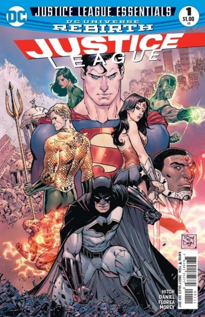 Justice League Essentials: Justice League #1 Rebirth