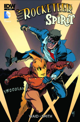The Rocketeer/The Spirit: Pulp Friction #1