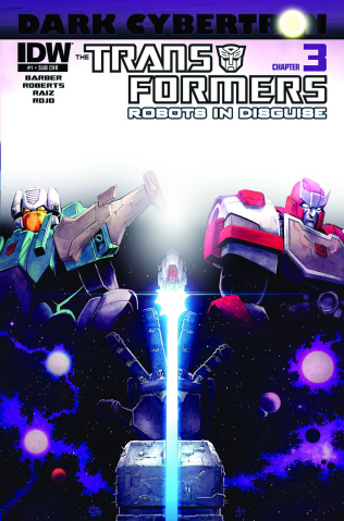 The Transformers: Robots in Disguise #23 (Subscription Cover)