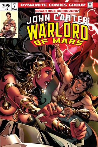 John Carter: Warlord of Mars #7 (Lupacchino Cover)