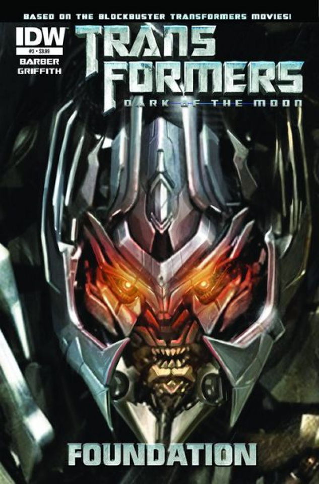 Transformers 3 Movie Prequel: The Foundation #3
