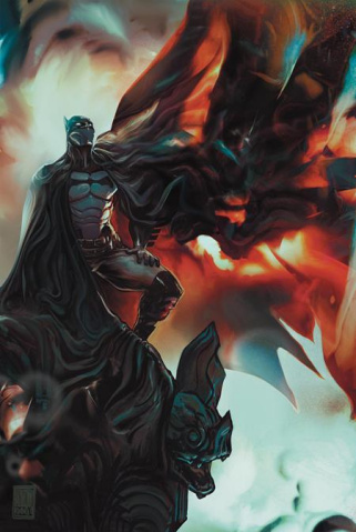 I Am Batman #4 (Rafael Sarmento Card Stock Cover)