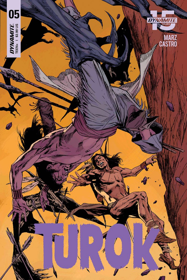 Turok #5 (Guice Cover)