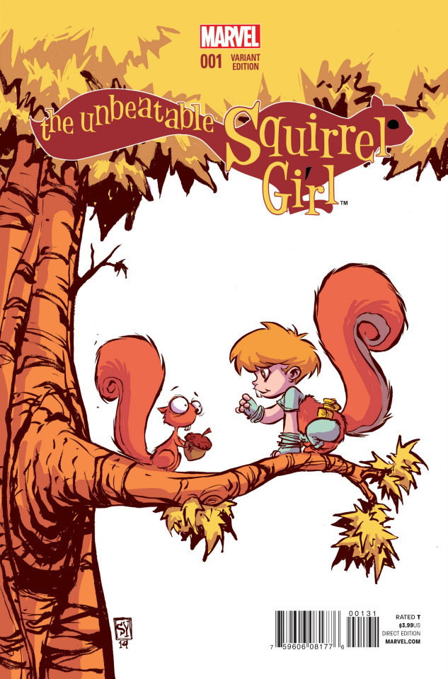 The Unbeatable Squirrel Girl #1 (Young Cover)