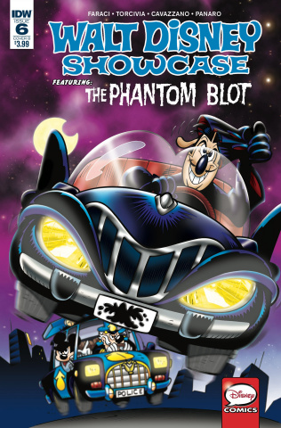 Walt Disney Showcase #6 (Phantom Blot Freccero Cover)