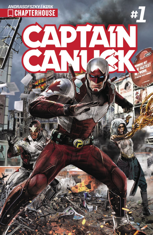 Captain Canuck #1 (Gallagher Cover)