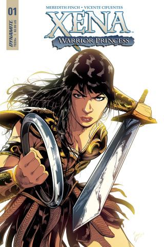 Xena #1 (Cifuentes Cover)