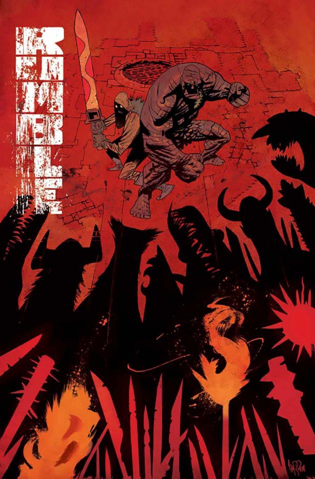 Rumble #14 (Harren Cover)