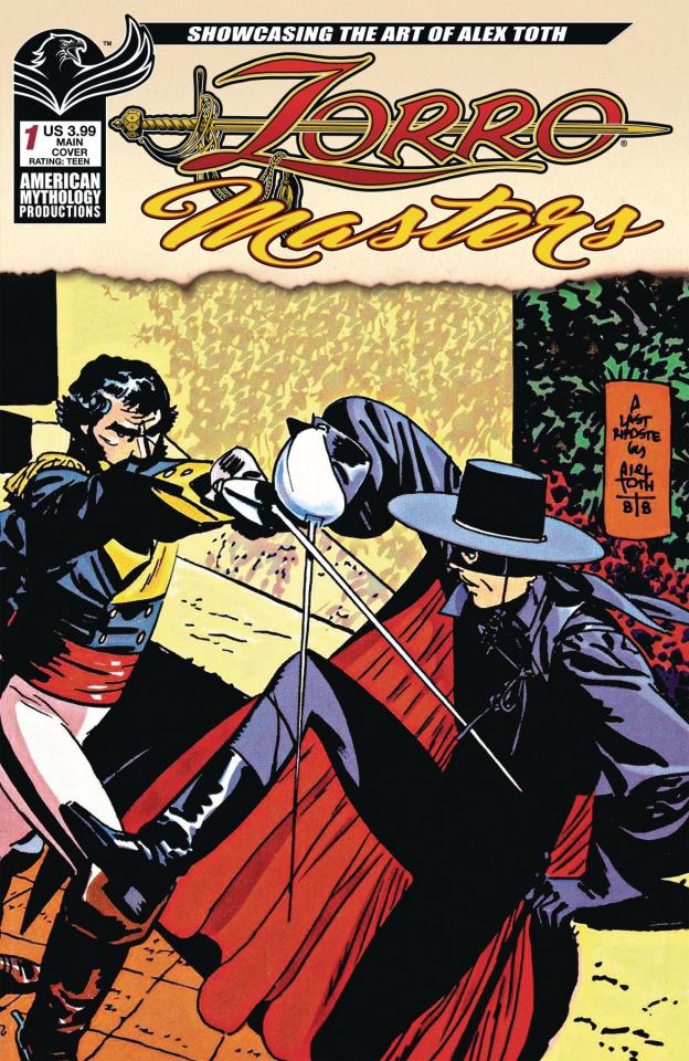 Zorro Masters: Alex Toth #1 (Toth Cover)