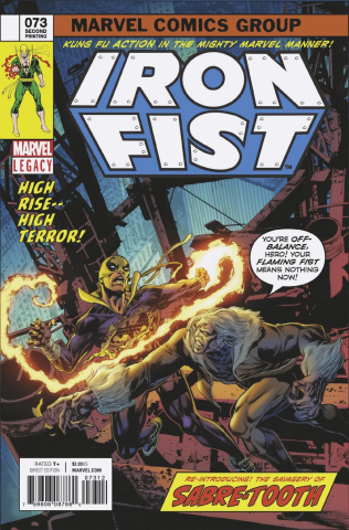 Iron Fist #73 (2nd Printing Perkins Cover)