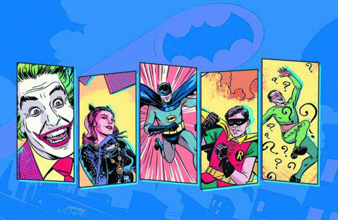Batman '66 #1 (Variant Cover)