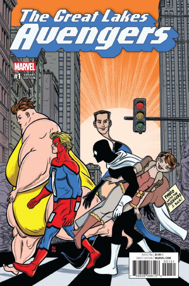 Great Lakes Avengers #1 (Allred Cover)
