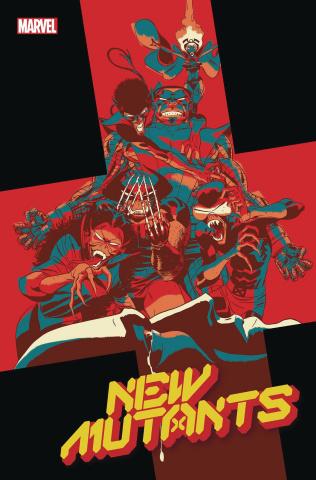 New Mutants #9 (Martin God Loves Man Kills Cover)