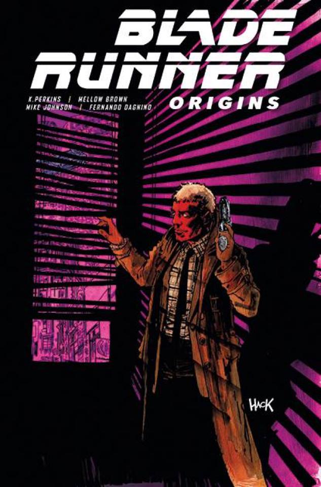Blade Runner: Origins #6 (Hack Cover)
