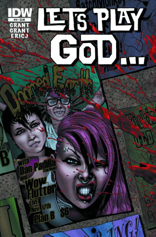 Let's Play God #1 (20 Copy Cover)