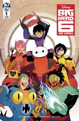 Big Hero 6 #1 (Gurihiru Cover)