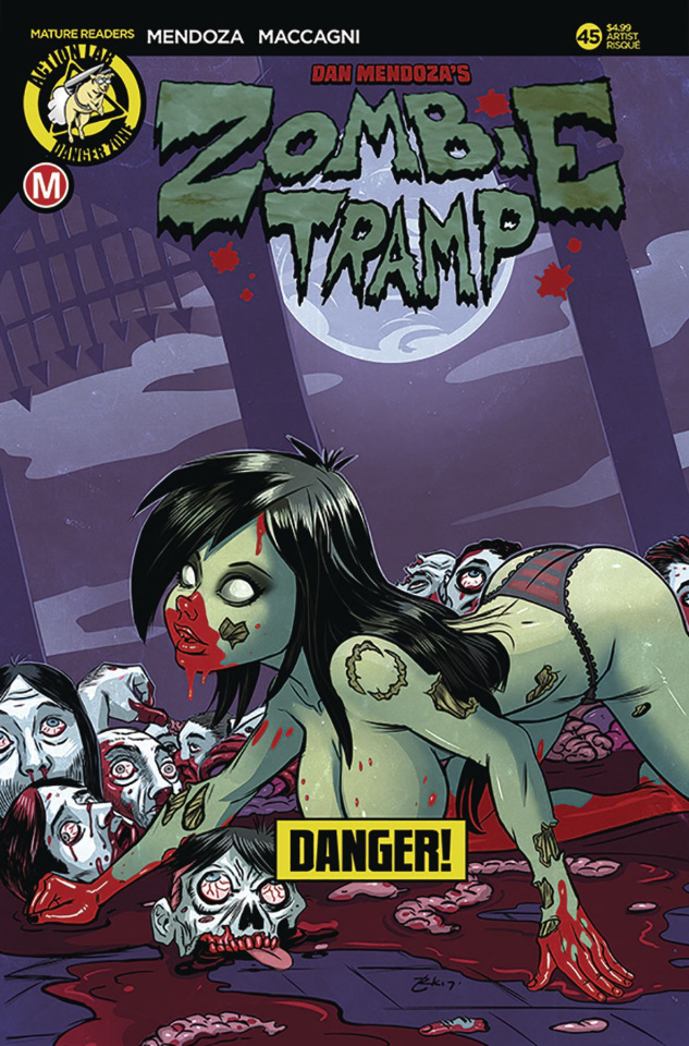 Zombie Tramp #45 (Garcia Risque Cover)
