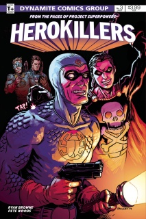 Project Superpowers: Hero Killers #3 (10 Copy Cover)